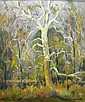 Frederick W. Rigley 24 x 20 O/L Dancing Sycamore, Frederick Wildermuth Rigley, Click for value