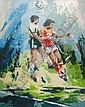 Wayland Moore Ltd Edition Print, Soccer, Wayland Moore, Click for value
