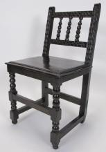 Antique Carved Wooden Chair