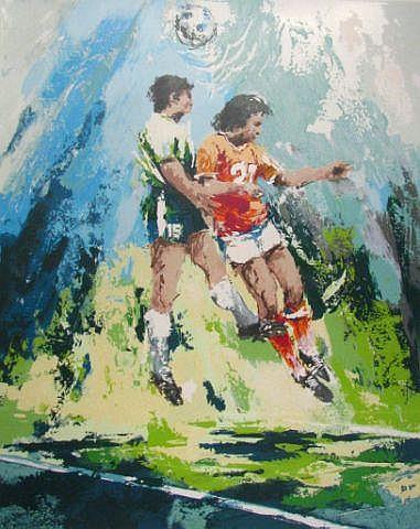 Wayland Moore Ltd Edition Print, Soccer
