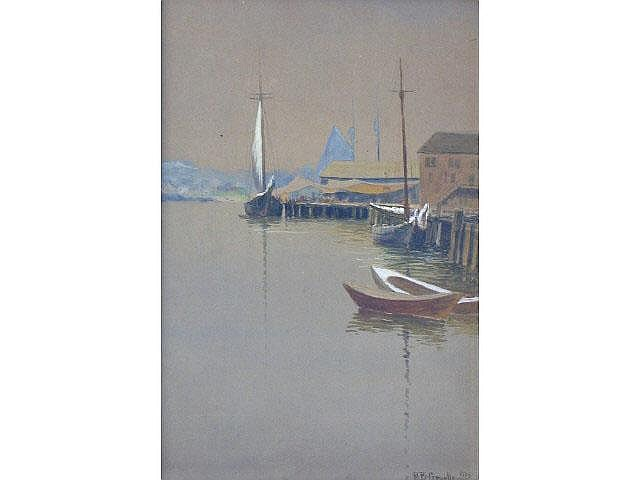 Richard Buckner Gruelle (1851-1914) 19.75 x 13.5