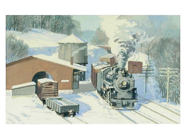 Frank Vietor (Indiana, 1919-2006), 5 x 8