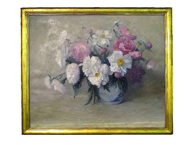Varaldo J. Cariani (IN, 1891-1969) 30 x 36 oil on