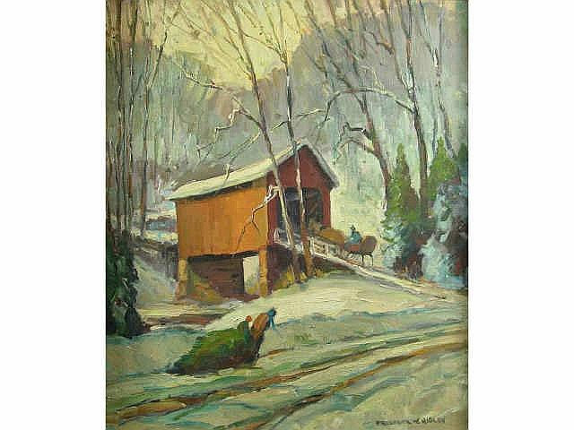 Frederick W. Rigley (Indiana, 1914- ), 27 x 23,