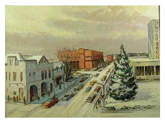 Frederick W. Rigley (Indiana, 1914- ), 22 x 30 oil