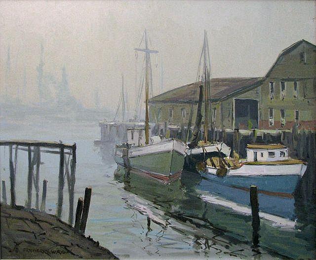 Frederick W. Rigley 20x24 Acrylic