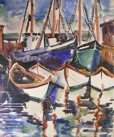 Carolyn G Bradley (1898-1954, IN), 24 x 20