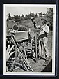 Hohenberger Photo, Man Making Tobacco Sticks, Frank Hohenberger, Click for value
