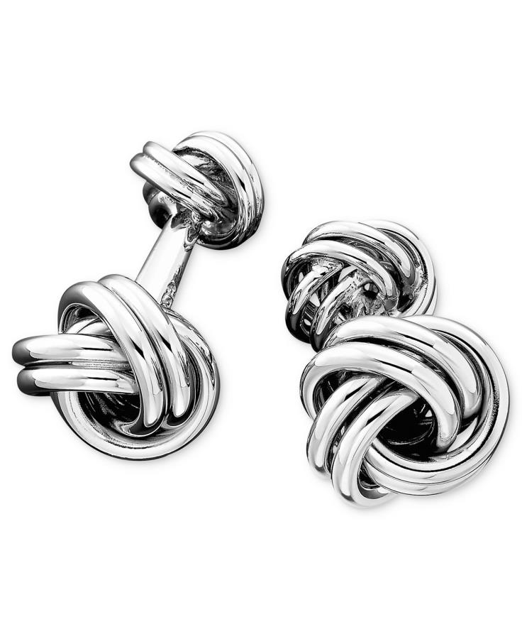 Tiffany Amp Co Sterling Silver Love Knot Cufflinks