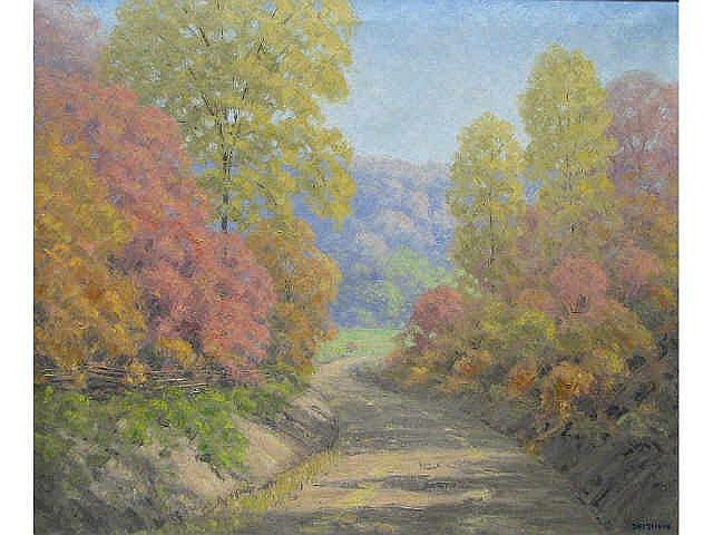 Dale Philip Bessire (Indiana, 1892-1974), 30 x 36