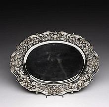 WHITING AMERICAN SILVER SERVING TRAY