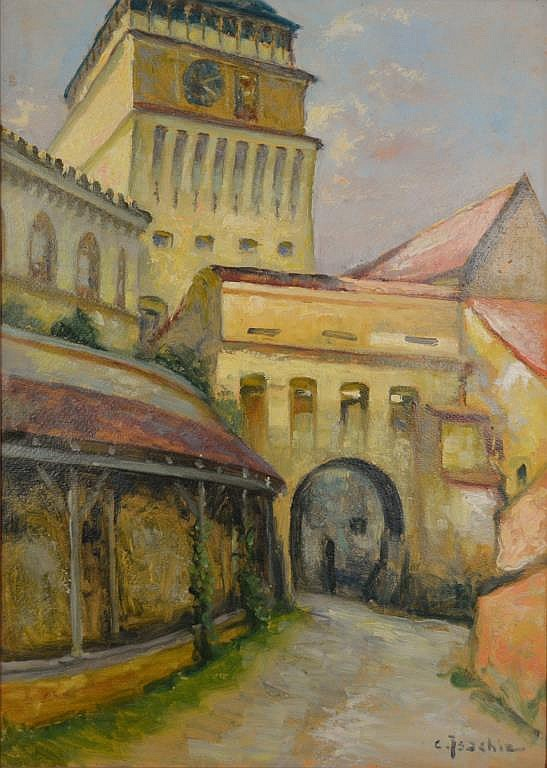 Constantin ISACHIE-POPESCU (Romanian 1888 - 1967)