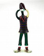 Fulvio Bianconi Murano Glass Figure