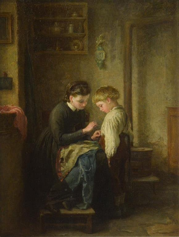 Pierre Edouard FRERE (French, 1819 - 1886)