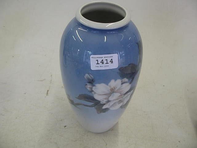 A Royal Copenhagen Vase Numbered 2629 2129 11