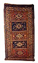 Caucasian rug, 8' 8