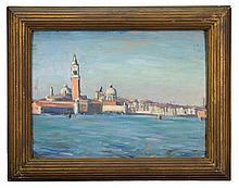 Oil on academy, Venice, Julian Joseph 1910