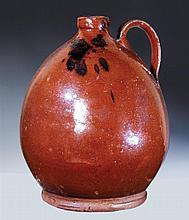 Redware jug