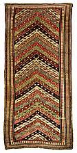 Antique Gendjeh rug, 3' x 7'