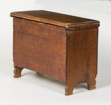 Early 19th c. child's blanket chest