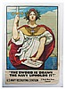Original WWI The Sword is Drawn poster, Kenyon C Cox, Click for value