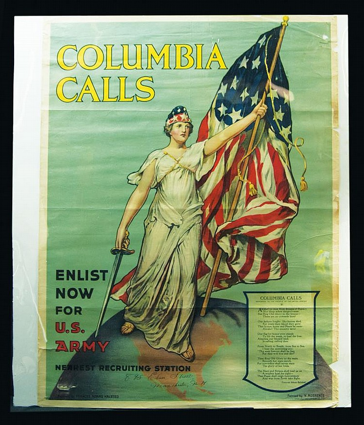 Original WWI US Army poster