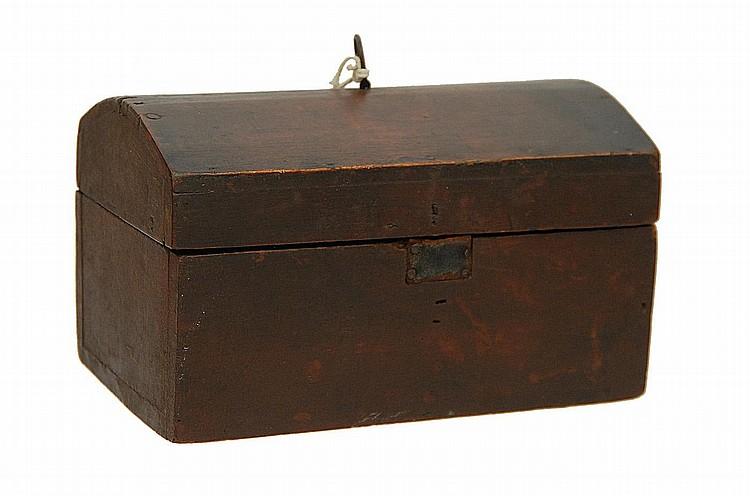 19TH C. WORK BOX OF ISAAC SPRAGUE'S