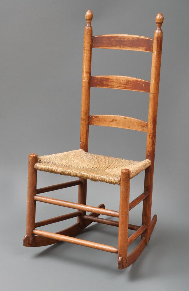 Rocking chair, no arms