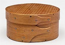 Small round box, 2 fingers