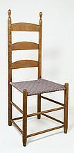 Side chair, tilter, 3-slat, stamped