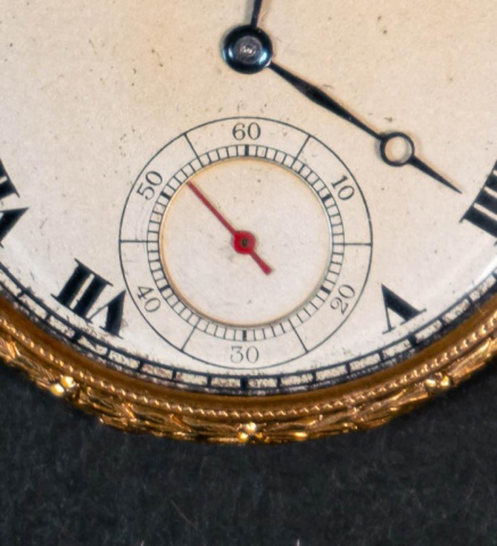 Waltham 18K Gold Pocket Watch