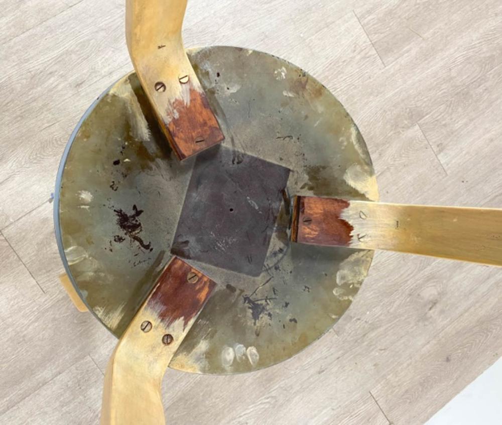 3 Alvar Alto Mid-Century Modern Stools