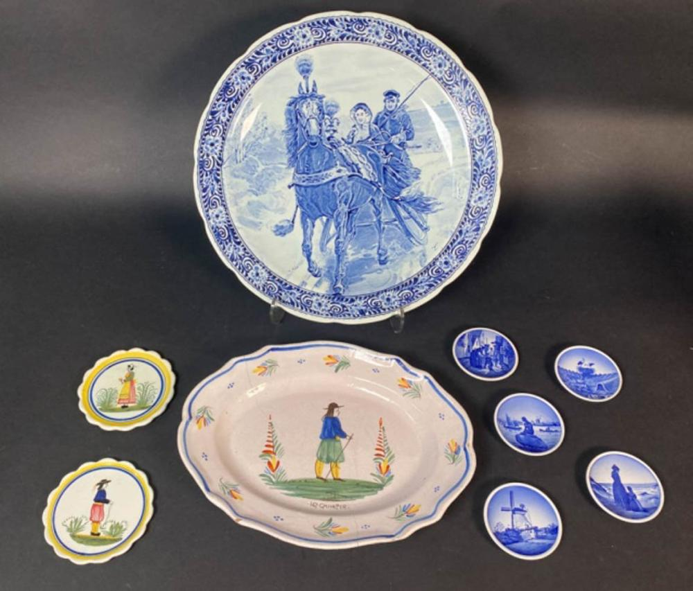 Grouping of Continental Porcelain Items
