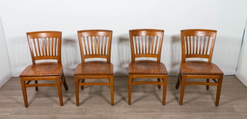 Set of Four Gunlocke Side Chairs