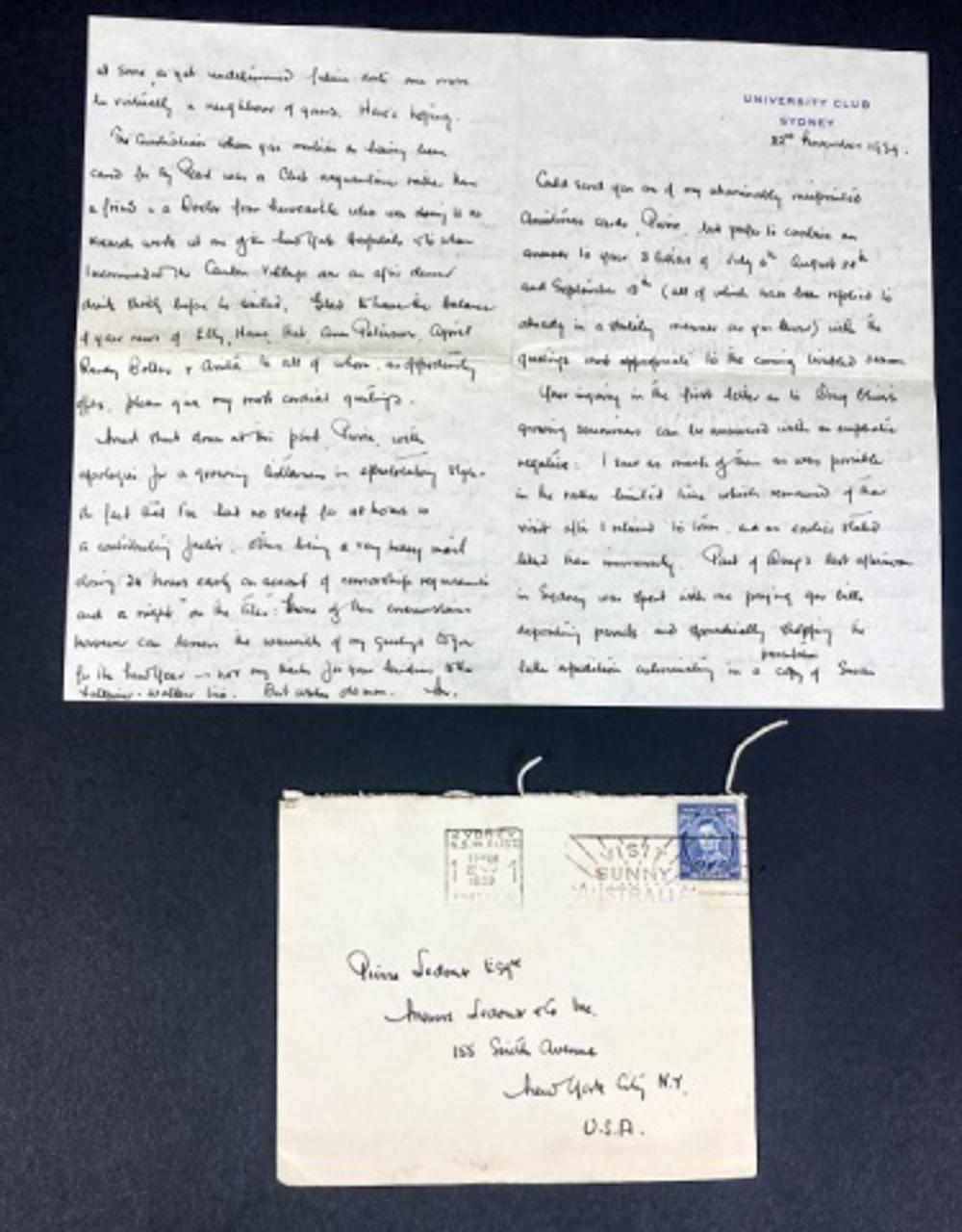 Letter from Mead to Ledoux, Oliver, Outbreak War
