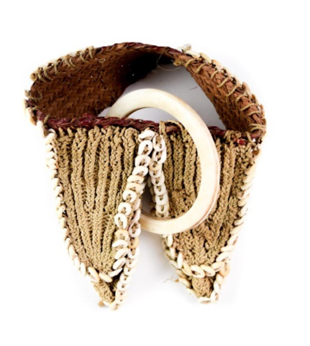 Cord and Rattan Banded Body Ornament