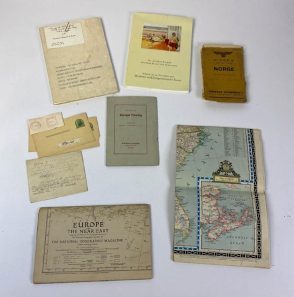 Collection of Ledoux's Maps and Catalogs