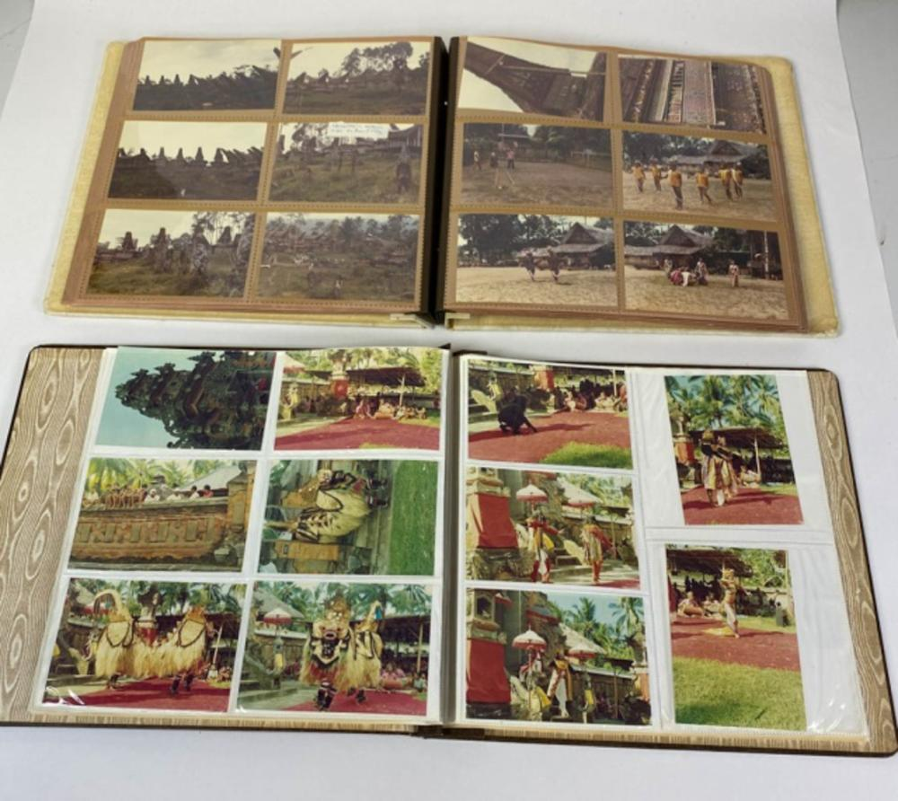 Ledoux's Trip to Indonesia, 2 Photo Albums
