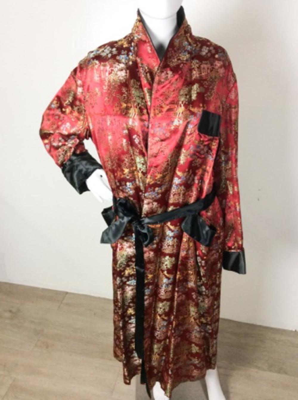 Traditional Baroque Kimono Lounge Wear Robe