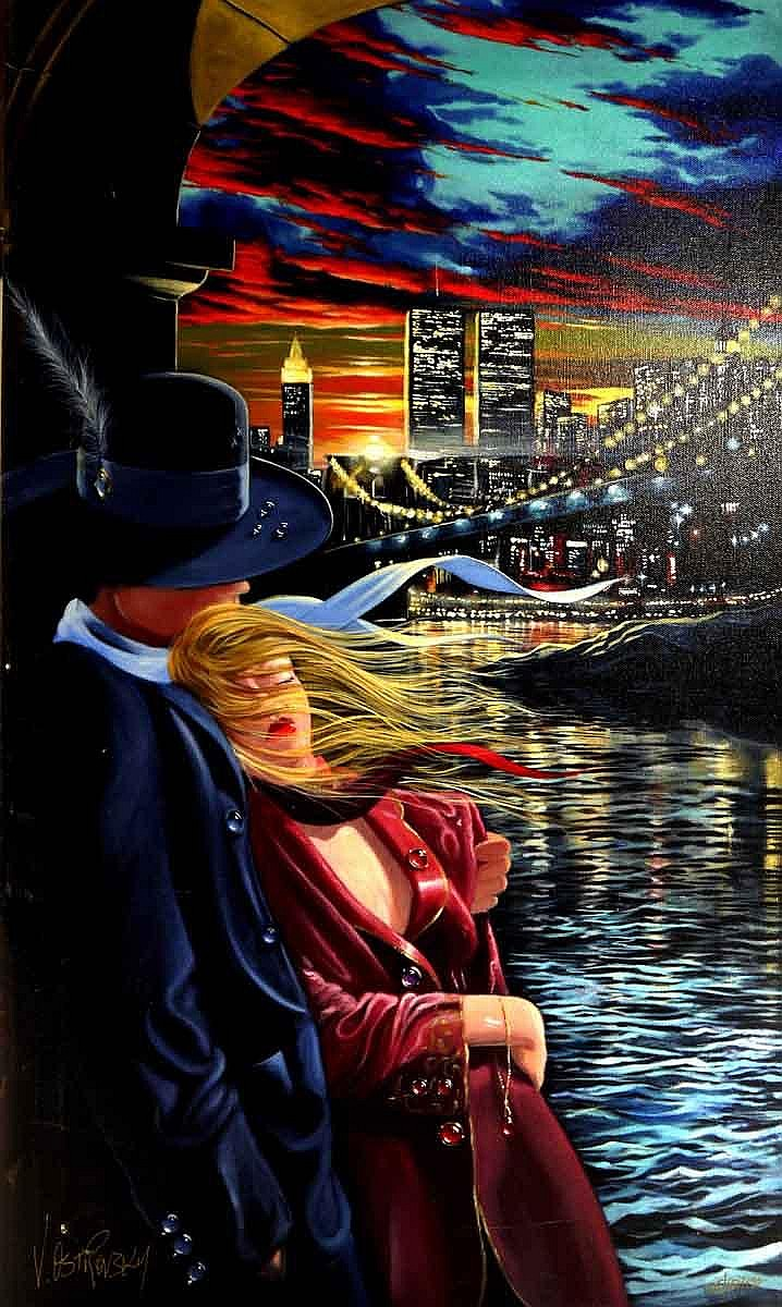 Farewell Address >> Victor Ostrovsky Artwork for Sale at Online Auction | Victor Ostrovsky Biography & Info