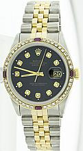 Rolex Stainless Steel&18k Yellow Gold Datejust WA11703
