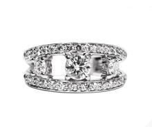 1.00cts Platinum Diamond Ring W5390