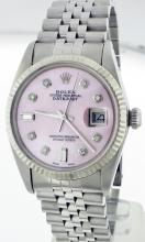 Rolex Stainless Steel 36mm Datejust 16014 WA9303