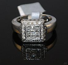 14kt White Gold 1.35ctw Diamond Ring W4750