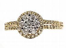 14kt YG 0.63ctw Dimond Ring WCJ3315-2