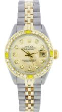 Rolex StainlessSteel&YellowGold Datejust WA12153