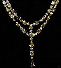 18kt WG 18.96ctw Diamond NK WCJ105145