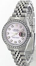 Rolex Stainless Steel 26mm Lady Datejust 6917 WA9603