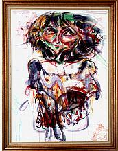 Listed Armenian Artist Gegam Khacheryan W2109