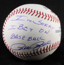 Signed Pete Rose